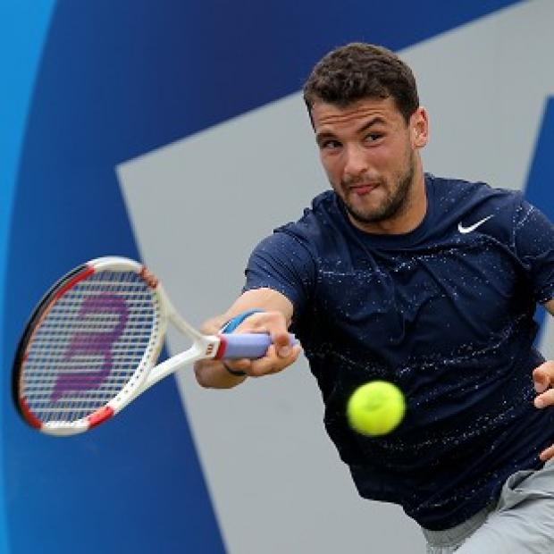 Andover Advertiser: Grigor Dimitrov, pictured, saw off Stan Wawrinka to book his place in the Queen's Club Aegon Championships final