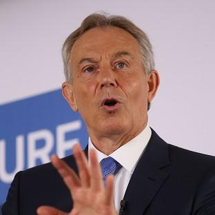 Tony Blair has intervened in the debate about the causes