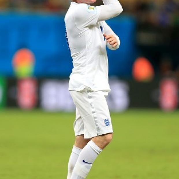 Andover Advertiser: Wayne Rooney's performance in England's defeat to Italy was a hot topic of conversation