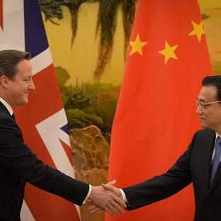 Li Keqiang is visiting the UK.