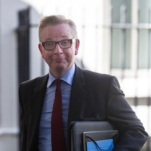 Education Secretary Michael Gove, who hired Dominic Cummings as an adv