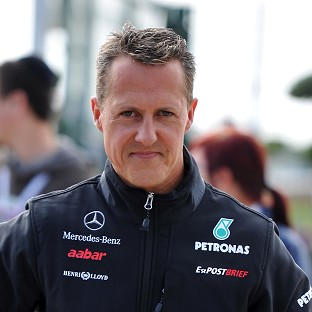 Seven-times F1 champion Michael Schumacher is no longer in a coma