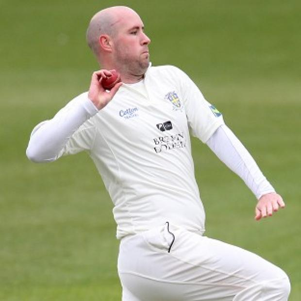 Andover Advertiser: Chris Rushworth claimed the final wicket for Durham