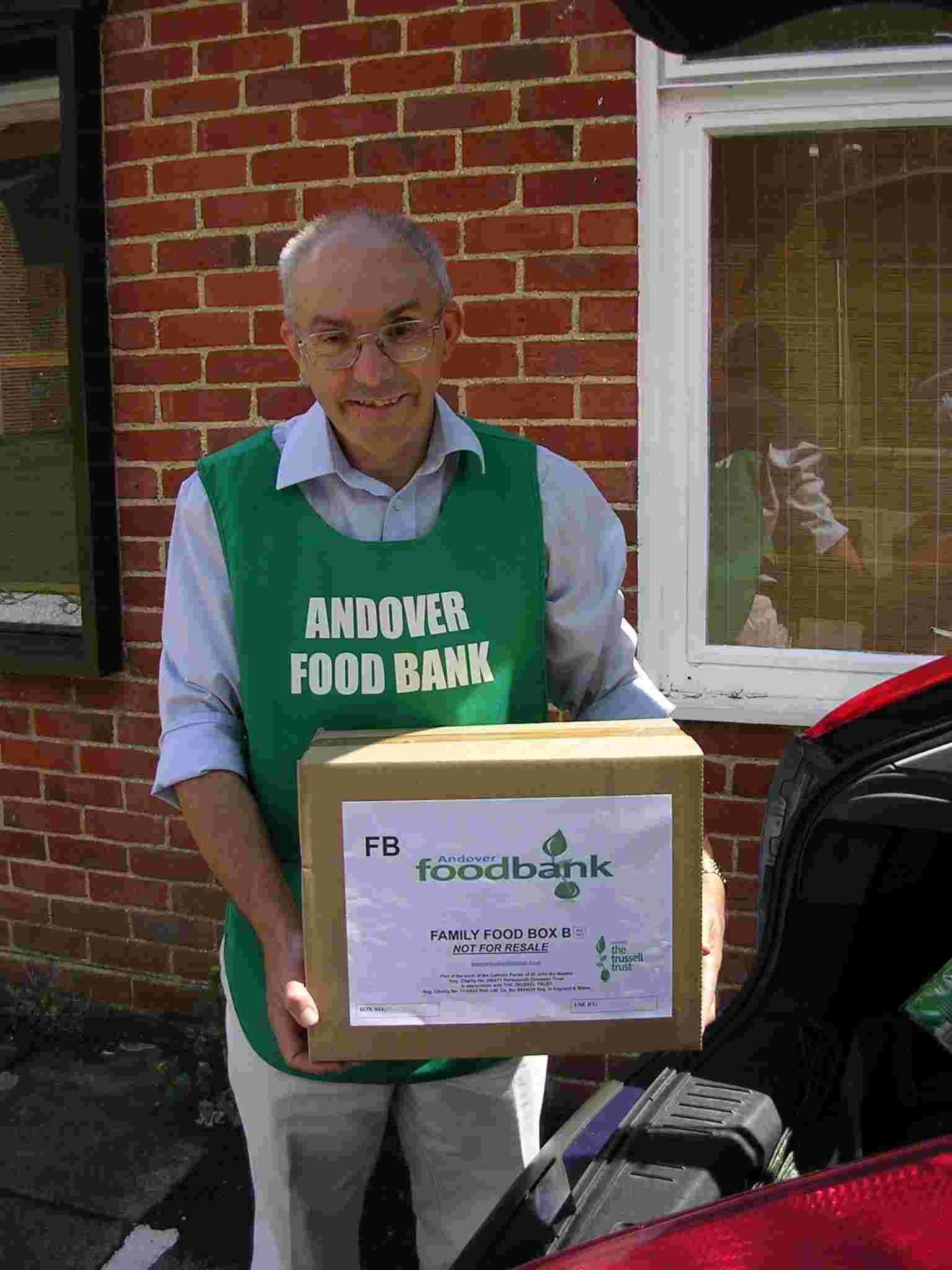 Donation to foodbank will help servi