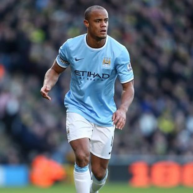 Andover Advertiser: Vincent Kompany, the Belgium captain, missed training on Thursday with a groin strain