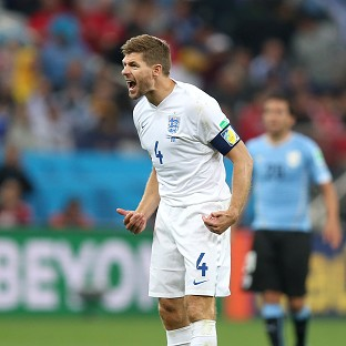 Steven Gerrard admits England face an uphill battle to reach the second round