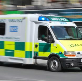 Paramedics were threatened when they attended a call-out at a pub during the England v Uruguay World Cup match