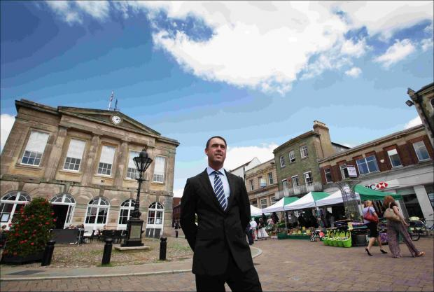 Andover Advertiser: Andover's new town centre manager appeals to businesses for support