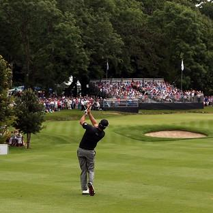 Graeme McDowell carded a second-round 66 at Fota Island
