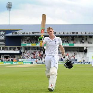 Sam Robson reached his first international century at Headingley