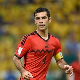 Mexico captain Rafael Marquez led his side into the knockout stage with the opening goal in a 3-1 win over Croatia, who were eliminated