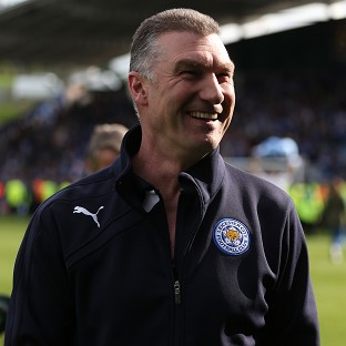 Nigel Pearson led Leicester to the Championship title last term