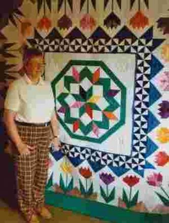 That's quilt an achievement