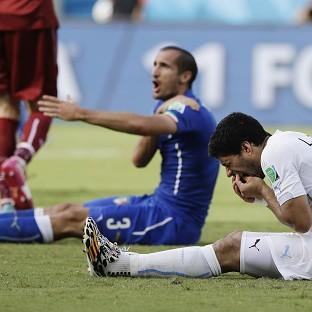 Andover Advertiser: Luis Suarez has appealed the punishment handed to him by FIFA (AP)