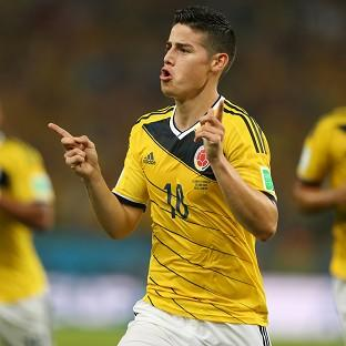 James Rodriguez was the star of the show for Colombia