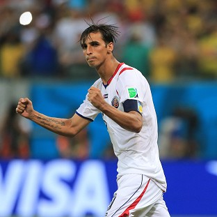 Costa Rica captain Bryan Ruiz scored in normal time and again in the penalty shoot-out