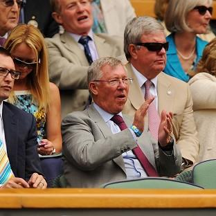 Andover Advertiser: Former Manchester United manager Sir Alex Ferguson watched Murray's quarter-final victory last year