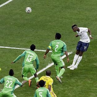 Paul Pogba's header broke Nigeria's resolve (AP)
