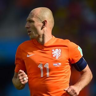 Arjen Robben is now focusing on Holland's quarter-final clash against Costa Rica