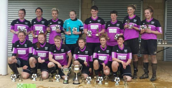 Ludgershall Ladies FC won promotion from the Wiltshire League last season