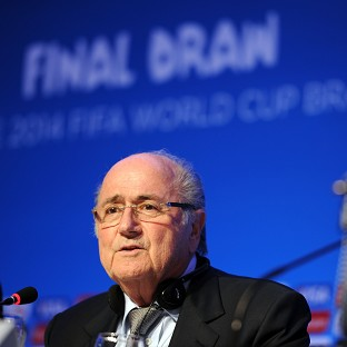 Sepp Blatter is aware of allegations that Cameroon players were involved in match-fixing