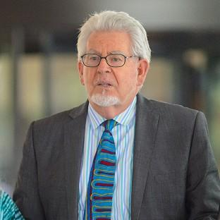Rolf Harris leaving Southwark Crown Court after being found guilty of sex charges involving four women
