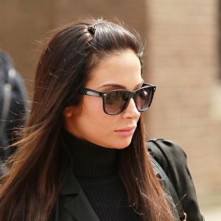 Tulisa Contostavlos denies an assault charge linked to celebrity blogger Savvas Morgan