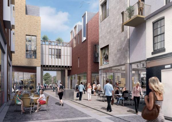 Part of the new plans for Silver Hill development