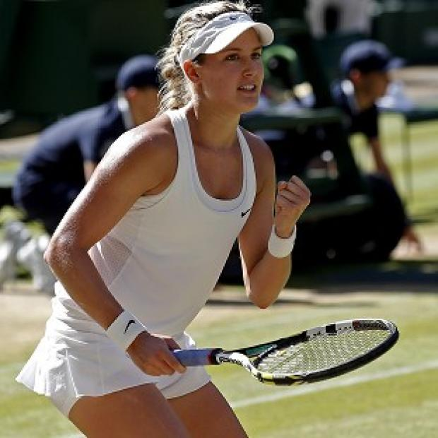 Andover Advertiser: Eugenie Bouchard, pictured, will face Petra Kvitova in Saturday's final