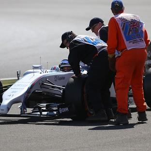 Susie Wolff's moment of Formula One history was all too brief due to a technical problem with her Williams
