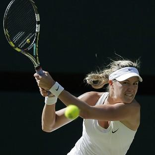 Andover Advertiser: Eugenie Bouchard of Canada.