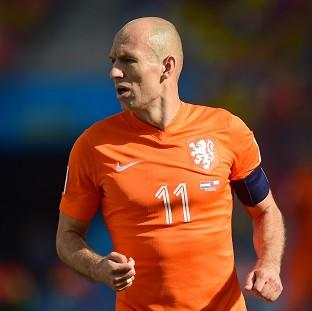 Arjen Robben is a concern for Costa Rica