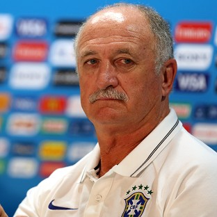 Brazil coach Luiz Felipe Scolari, pictured, is confident his team can progress without Neymar