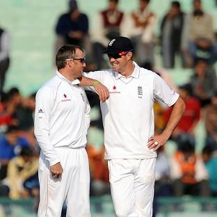 Kevin Pietersen, right, believes Graeme Swann was crucial for England