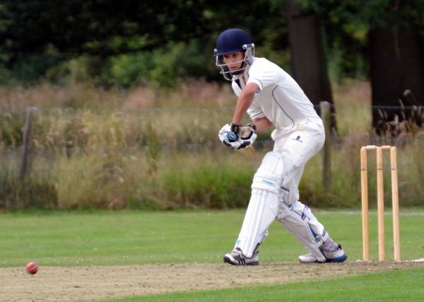 Under 15 Billy Mead impressed on his debut for Longparish on Saturday