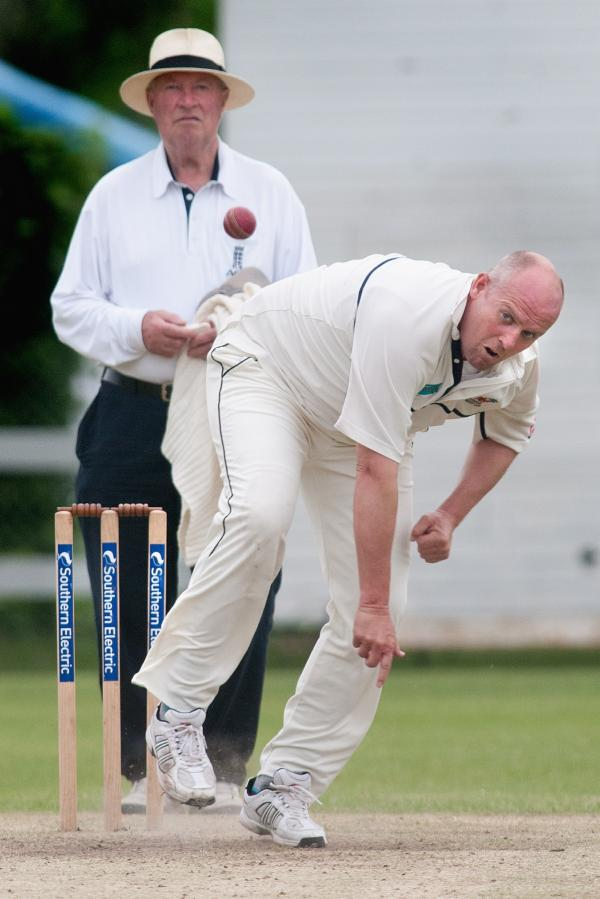 Dean Woodhouse was among the runs as Amport eased past Old Basing