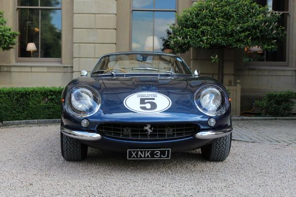 The Ferrari borrowed by Chris Evans for the charity event