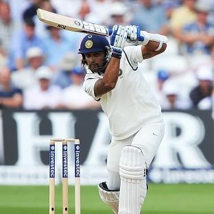 Murali Vijay was making hay early on in Nottingham