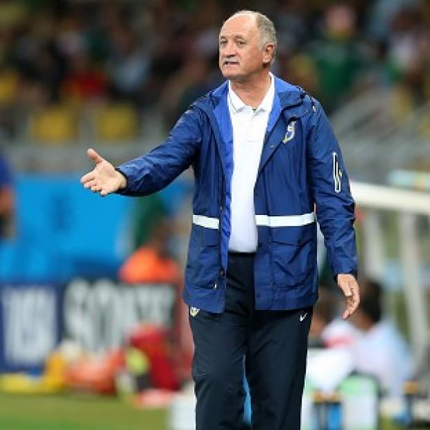 Andover Advertiser: Brazil manager Luiz Felipe Scolari, pictured, has been verbally attacked by Neymar's agent