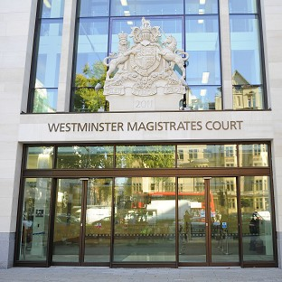 The 20-year-old is due to appear before Westminster magistrates