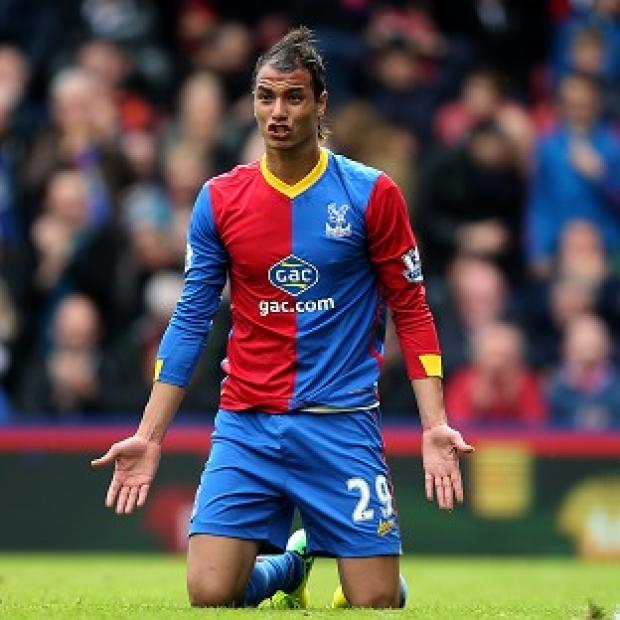 Andover Advertiser: Marouane Chamakh will remain at Selhurst Park