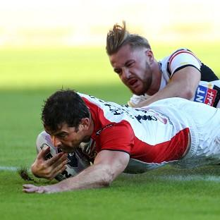 Paul Wellens scored two tries as St Helens eased to victory