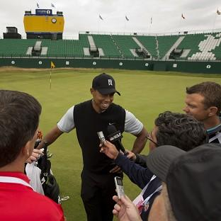 Tiger Woods won the Open at Hoylake in 2006 (AP)