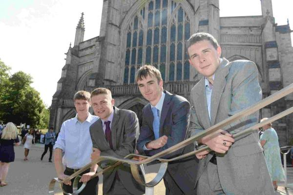 Sparsholt students graduate at Winchester Cathedral ceremony