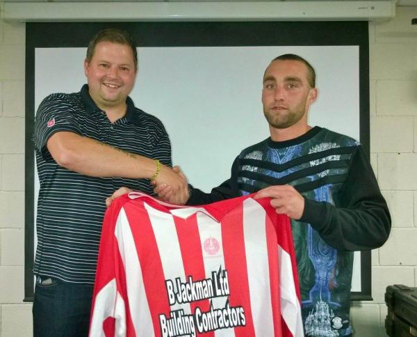 Dan Phillips (pictured right) was on target over the weekend