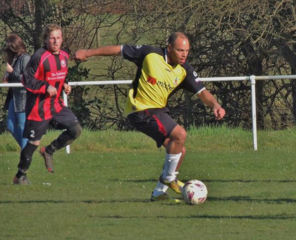 Dan Reynolds was on target for Andover Lions on Saturday