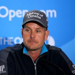 Henrik Stenson is looking to lift his first major at the weekend