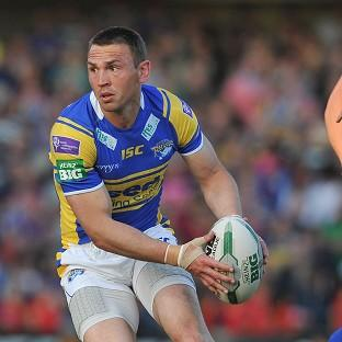 Kevin Sinfield was sent off for Leeds