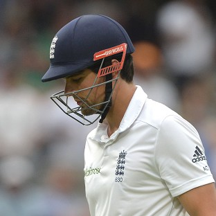 Alastair Cook and England are heading for defeat at Lord's