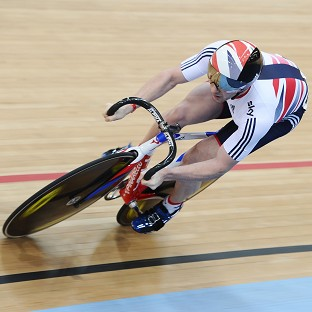 Jason Kenny has bulked up for the Commonwealth Games
